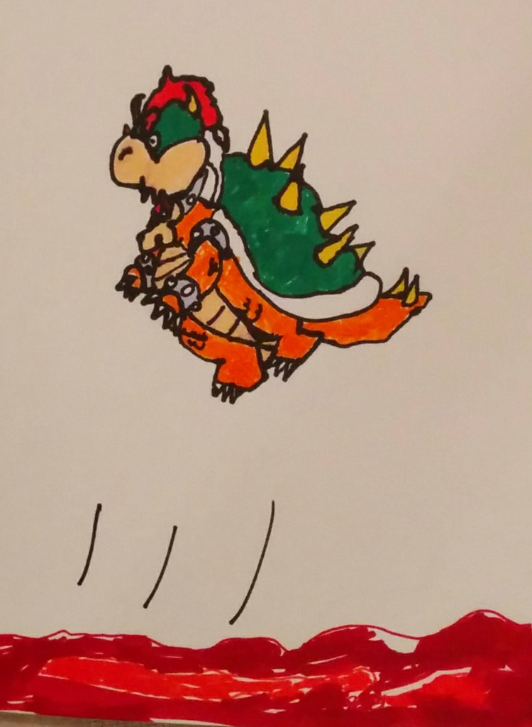 My son's Bowser