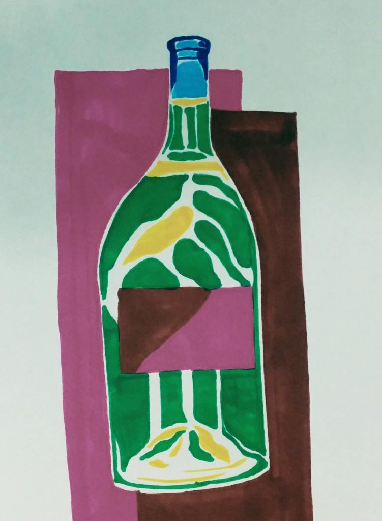 a bottle